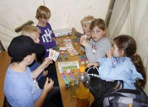 Zeltlager 2011, Zocken im Zelt