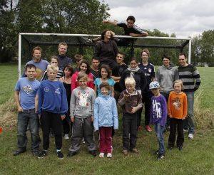 Gruppenfoto Zeltlager 2011