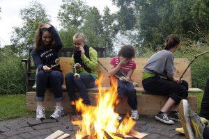 Zeltlager 2012, wenn doch der Qualm nicht wäre