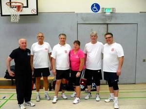 Mannschaft beim Indiaca-Turnier in Wuppertal 2.2017