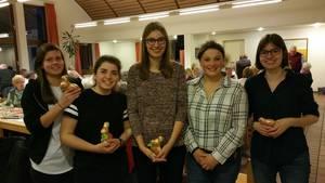 Helferinnen auf der Jahreshauptversammlung 2017