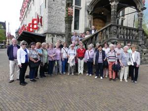 Turnvereinsfahrt nach Gouda 2017