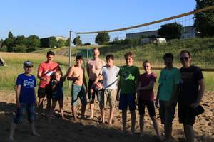 Zeltlager 2017 Beachvolleyball