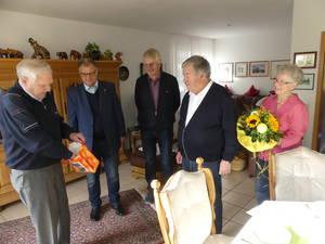 Der TVB gratuliert Heinz Pelmter zum 80. Geburtstag