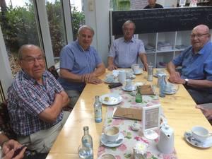 Theo Benten ist seit dem Jahre 1949 Vereinsmitglied