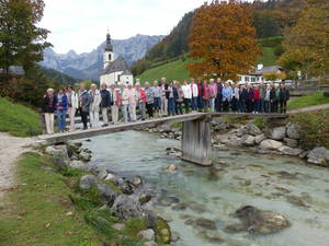 Fahrt ins Berchtesgadener Land