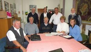 Vorstandsmitglieder nach der Sitzung am 13.11.2018