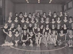 TVB Gruppenfoto Frauen im Jahr 1964